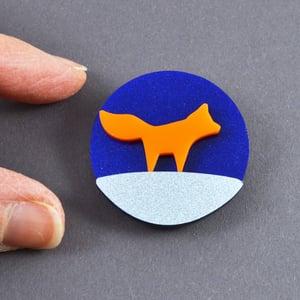 Image of Little Fox Brooch