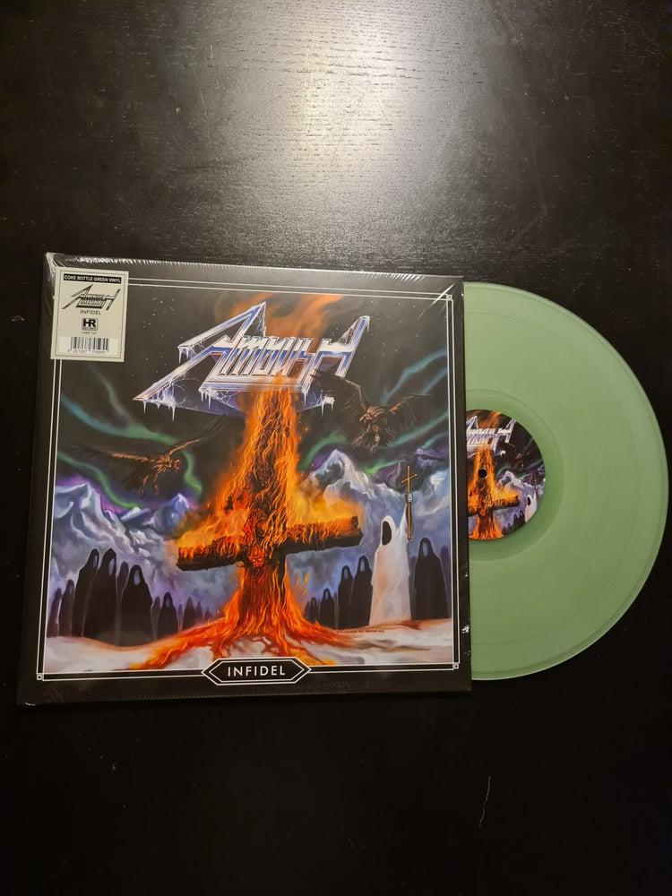 Image of Infidel - LP COKE BOTTLE GREEN