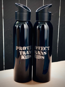 Image of NEW - Protect Trans Kids 20oz Water Bottle