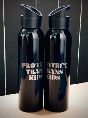 NEW - Protect Trans Kids 20oz Water Bottle