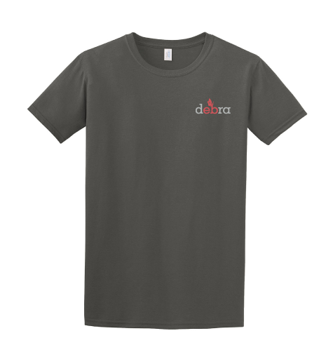 Image of Right-side-out debra t-shirt - slate grey