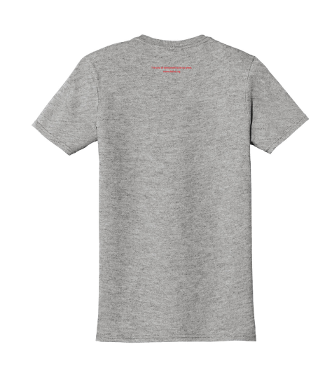 Image of Right-side-out debra t-shirt - light grey