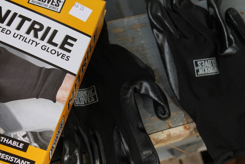 NITRILE COATED UTILITY GLOVES
