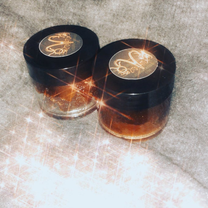 Image of Honey and Coconut Brown Sugar Lip Scrub