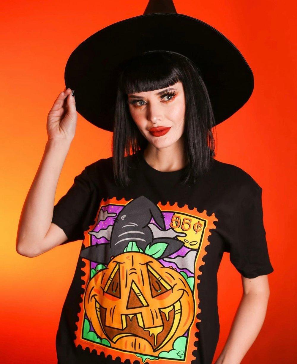 Pumpkin Stamp Tee