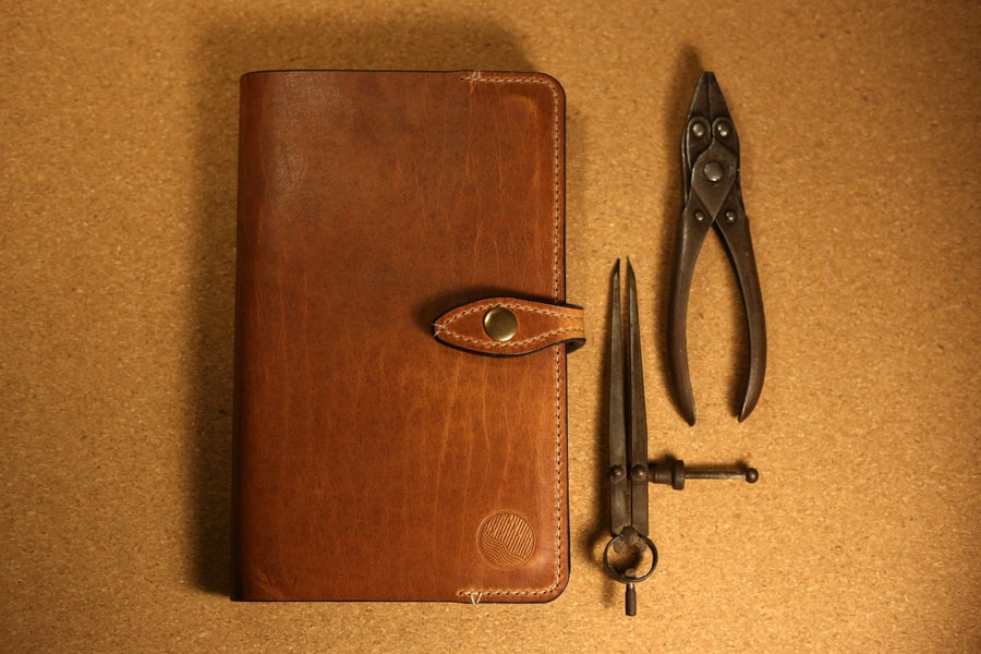 Image of Providence - Horween Large Moleskine Journal / Planner