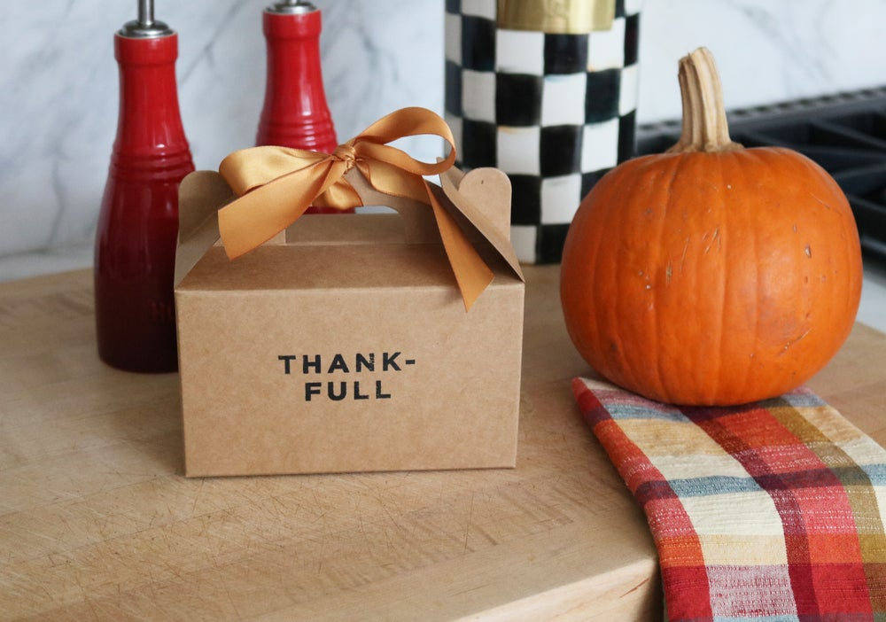 Image of Thank-Full Leftovers To Go Box