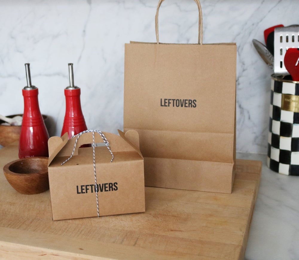 Image of Leftovers To Go Box
