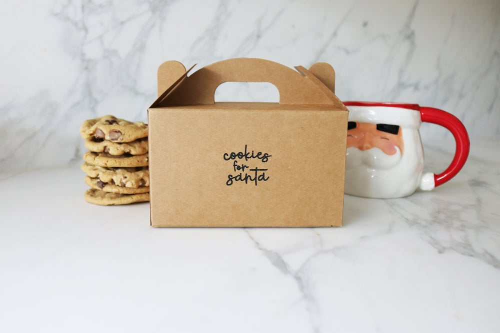 Image of Cookies for Santa Treat Box