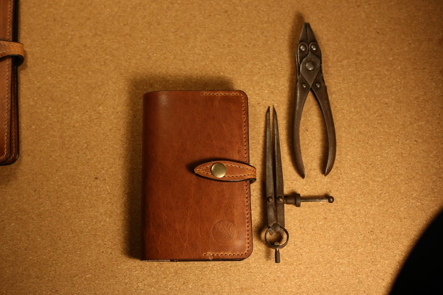 Image of Padstow - Horween 'Pocket' sized Moleskine Journal