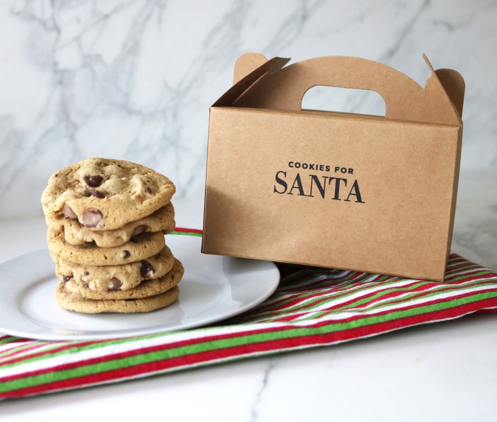 Image of Santa's Cookies Treat Box