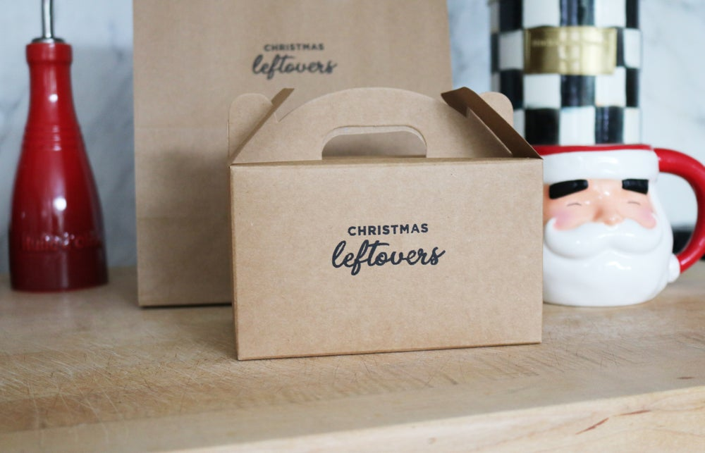 Image of Christmas Leftovers To Go Box