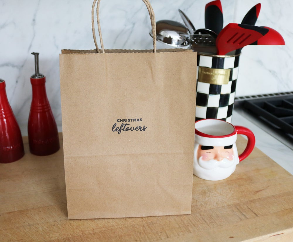 Image of Christmas Leftovers To Go Bag