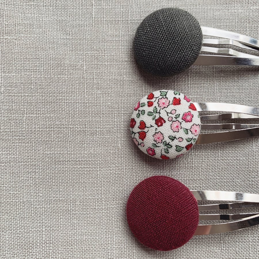 Image of Vinty Hair Clips: Christmas Collection
