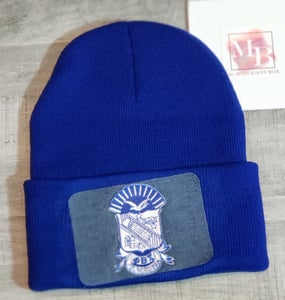 Image of Sigma Denim Patch Beanie