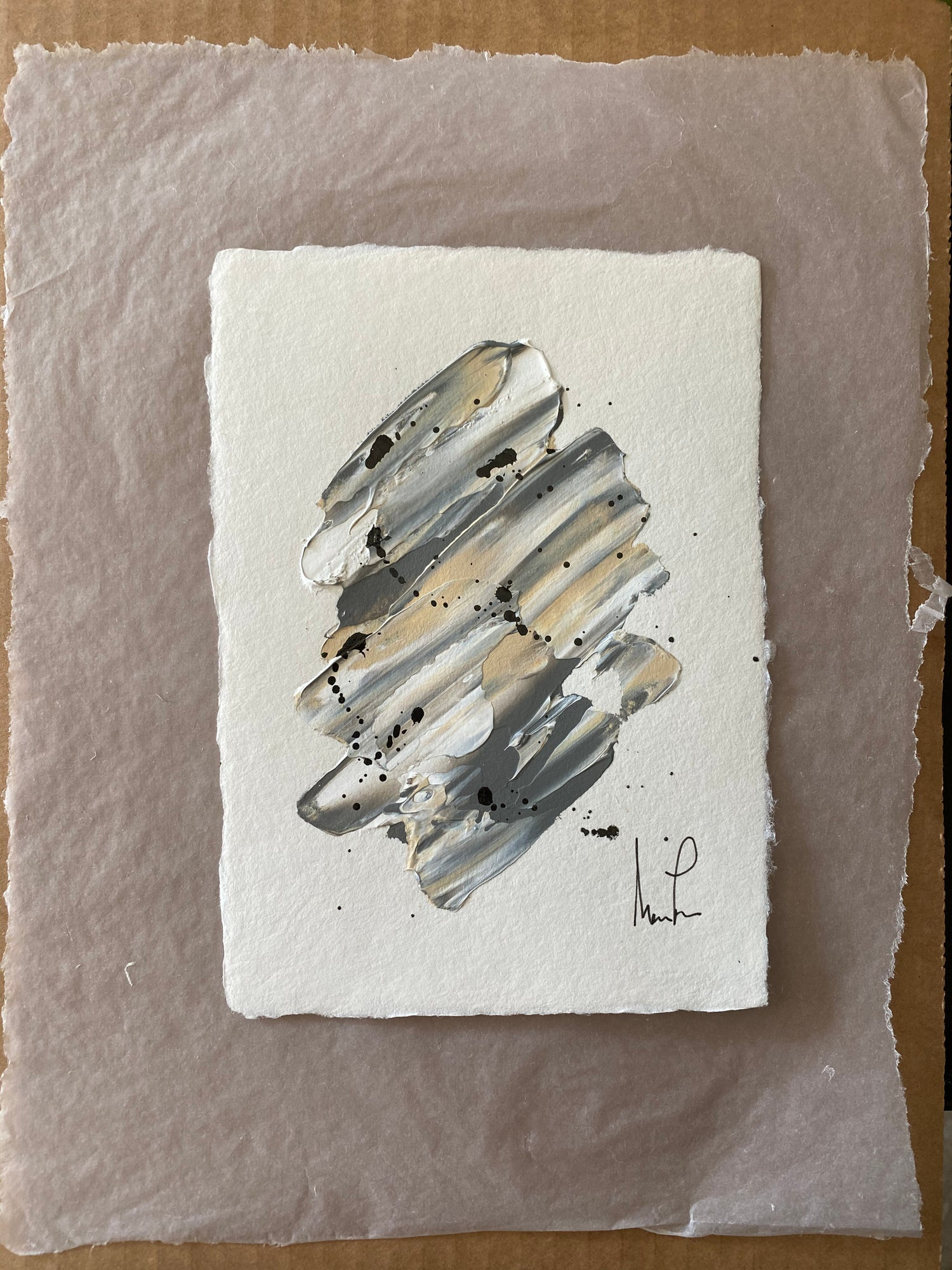 Image of ML Art Collection - Handmade Paper on Vellum Paper (1c)