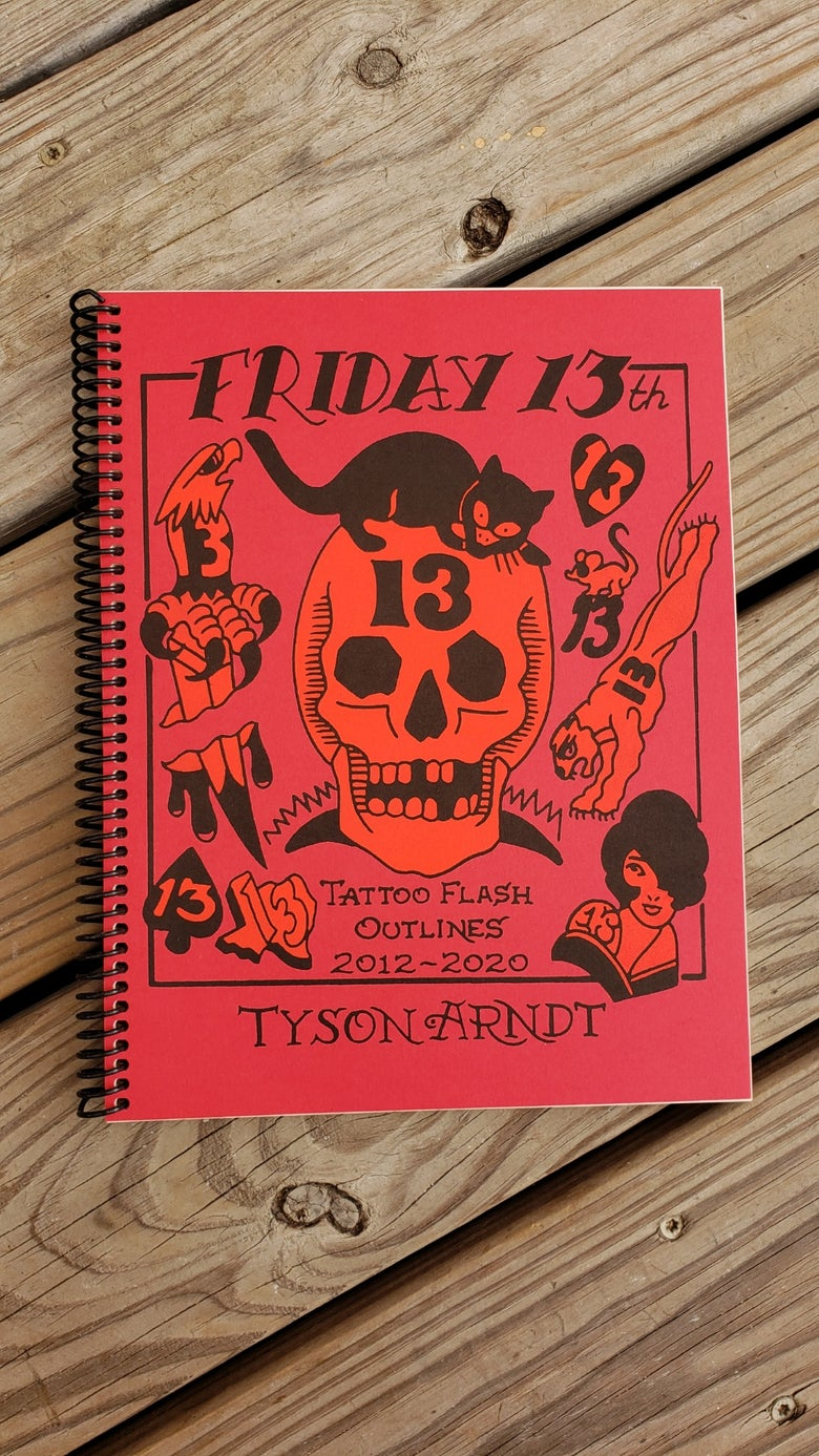Image of Friday 13th book!