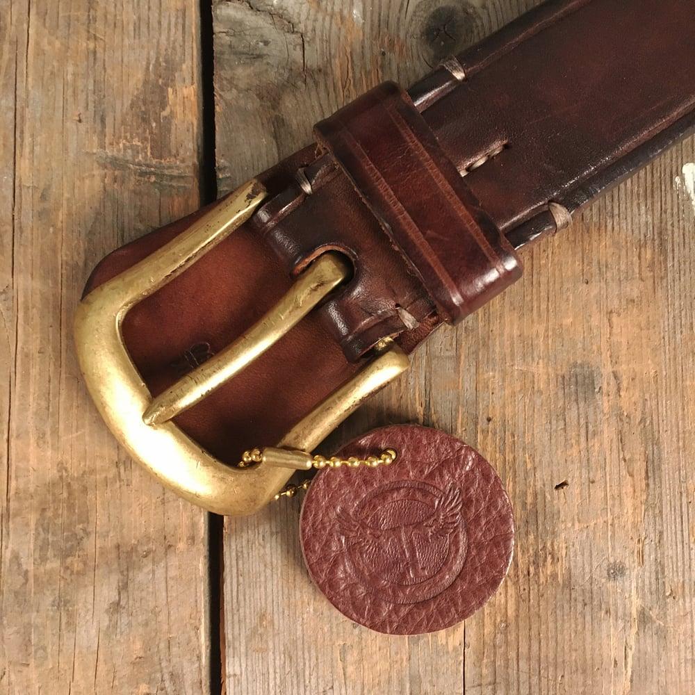Image of THEDI LEATHERS HORSESHOE BELT