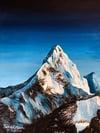 Snowy Mountain (Print)