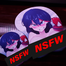 Image 2 of XL Ryuko 3D Mousepad (SFW/NSFW)