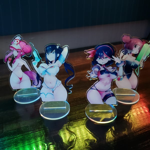 Image of Swimsuit Trigger Girls Standees!
