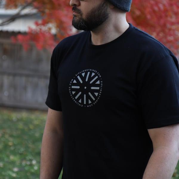 Image of ZipLine Shirt *Stage Black* v2