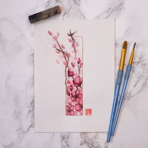 Image of Blossoms Rectangle