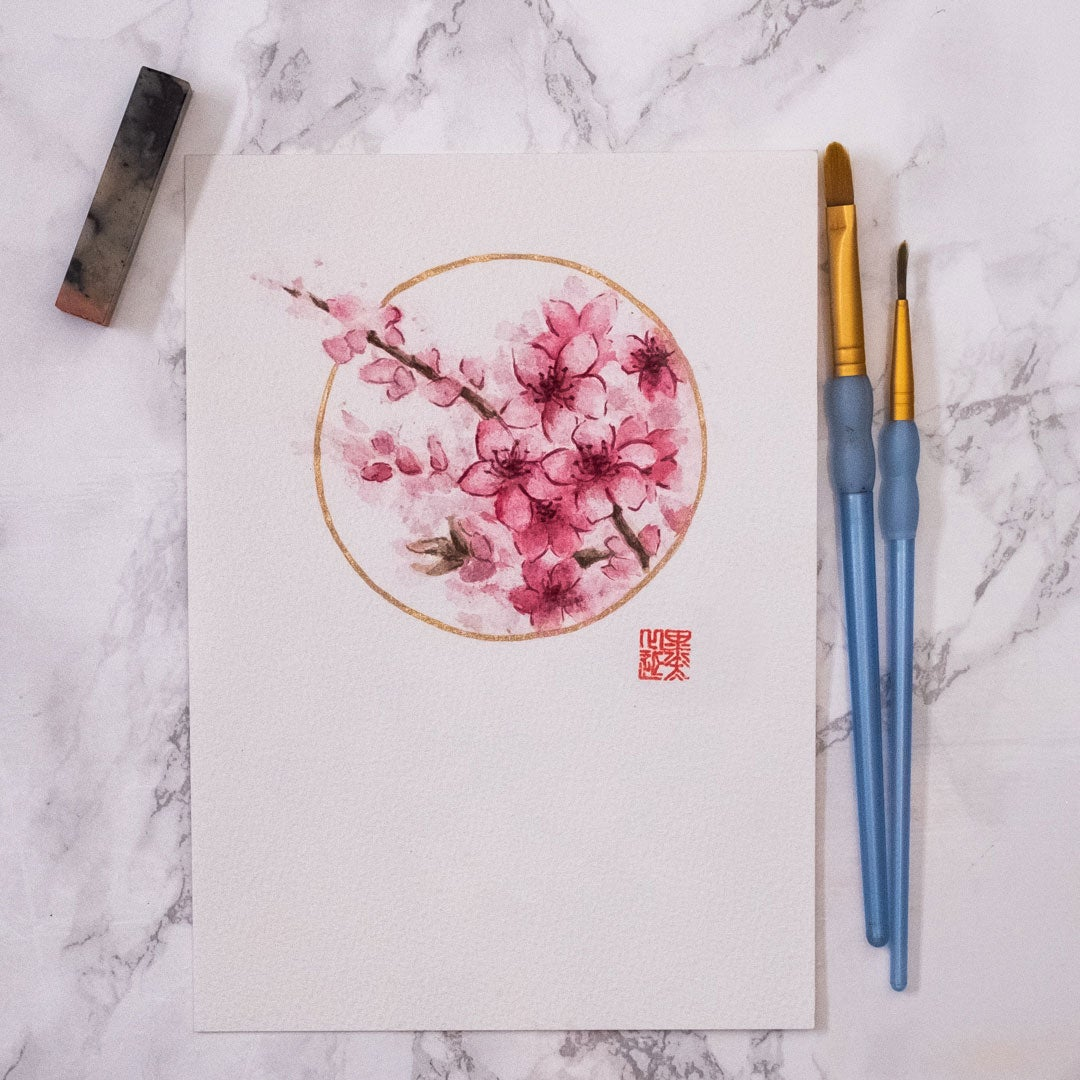 Image of Blossoms - Round