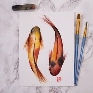 Image of Golden Koi