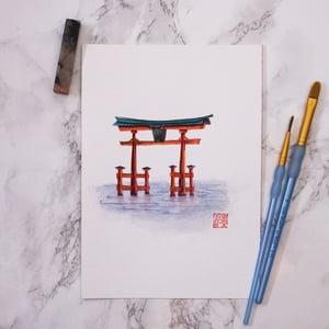 Image of  Itsukushima Shrine