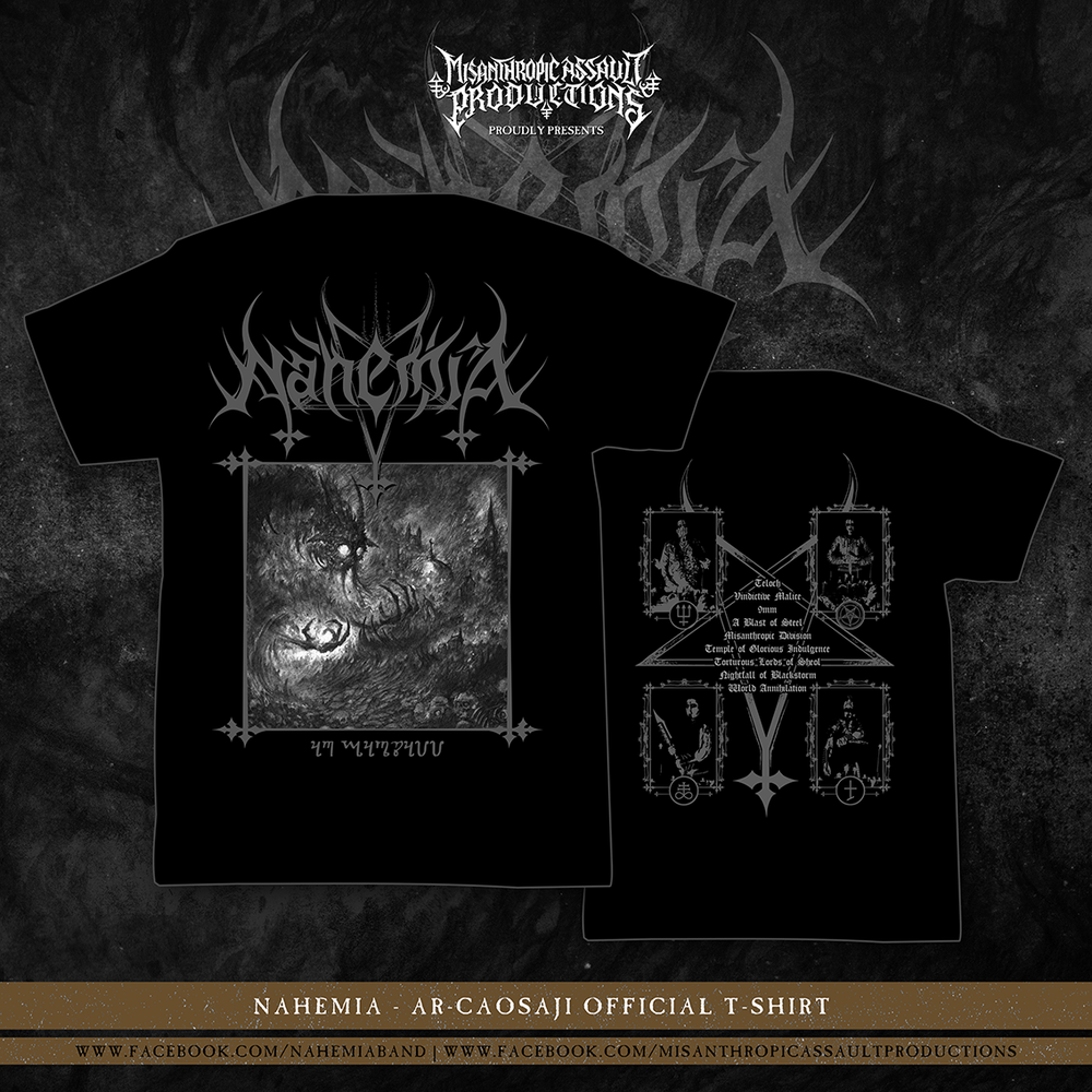 Image of NahemiA - AR-CAOSAJI Official T-shirt