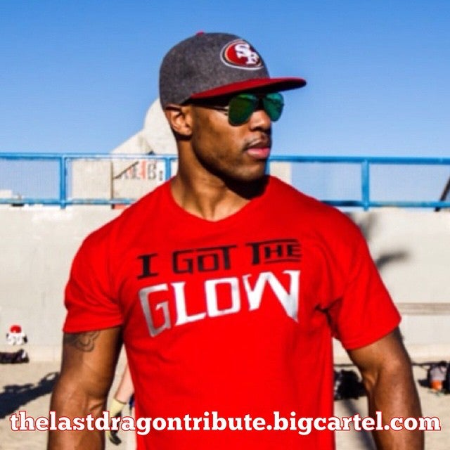 Image of I Got the Glow - Red/Grey