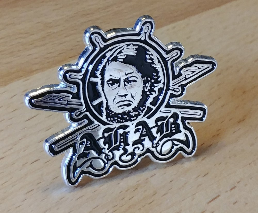 "Image of Metal Pin ""AHAB"""