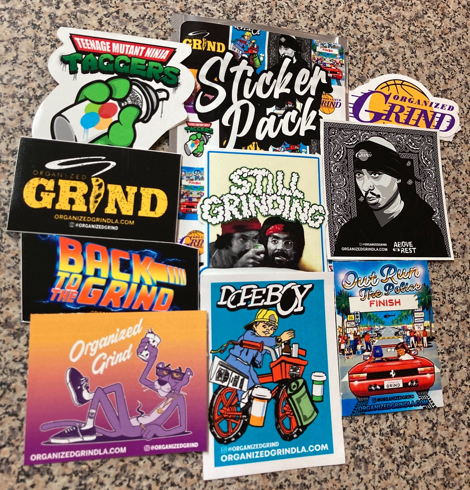 Image of New OG Sticker Pack