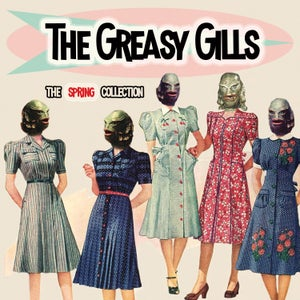 "Image of 7""EP. The Greasy Gills : The Spring Collection 4 track EP."