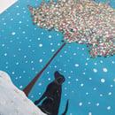 Image 3 of 'Black Beauty' Handpainted Framed Tile