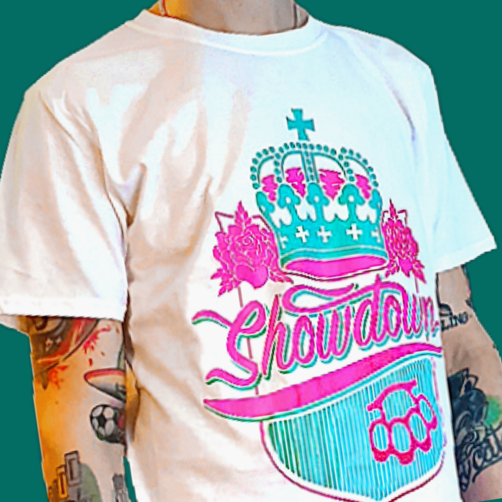 Showdown - Shield Tee (White)