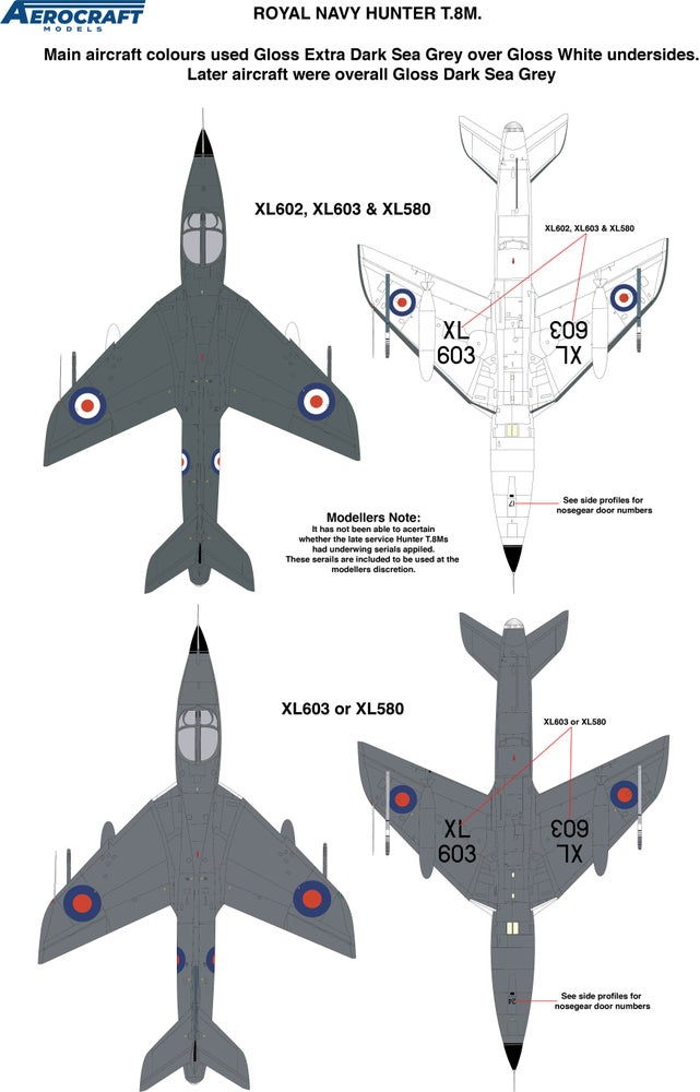Image of Hawker Hunter T.8M conversion set