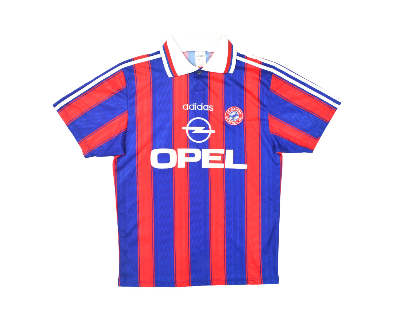 Image of 1995-97 Adidas Bayern Munich Home Shirt 'Scholl 7' S