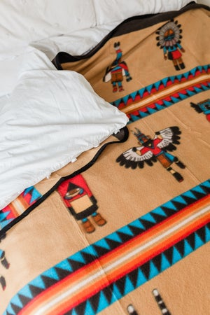 Image of Native Gods - Camp Blanket - Large