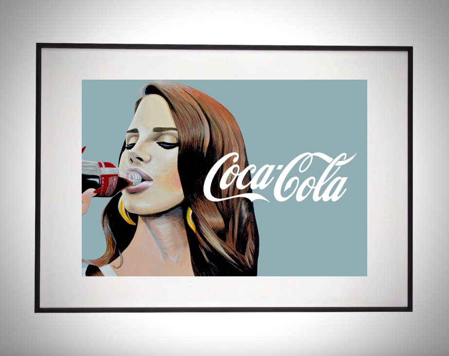 Image of Share a Coke with Lana Limited Edition Poster Print (Version 2)