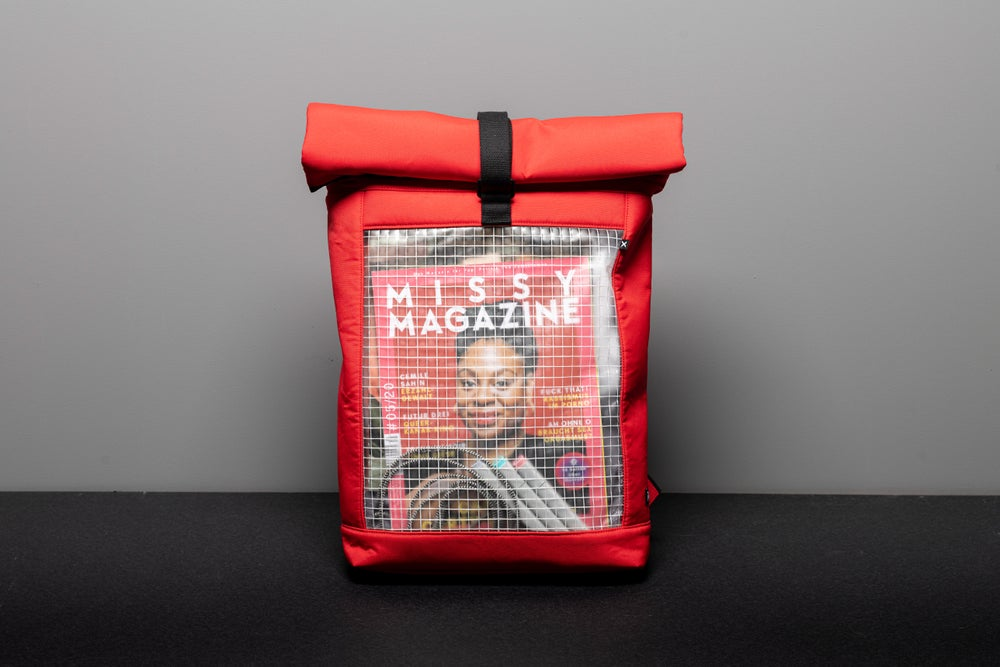 Image of BACKPACK INVISIBLE SHELL rojo