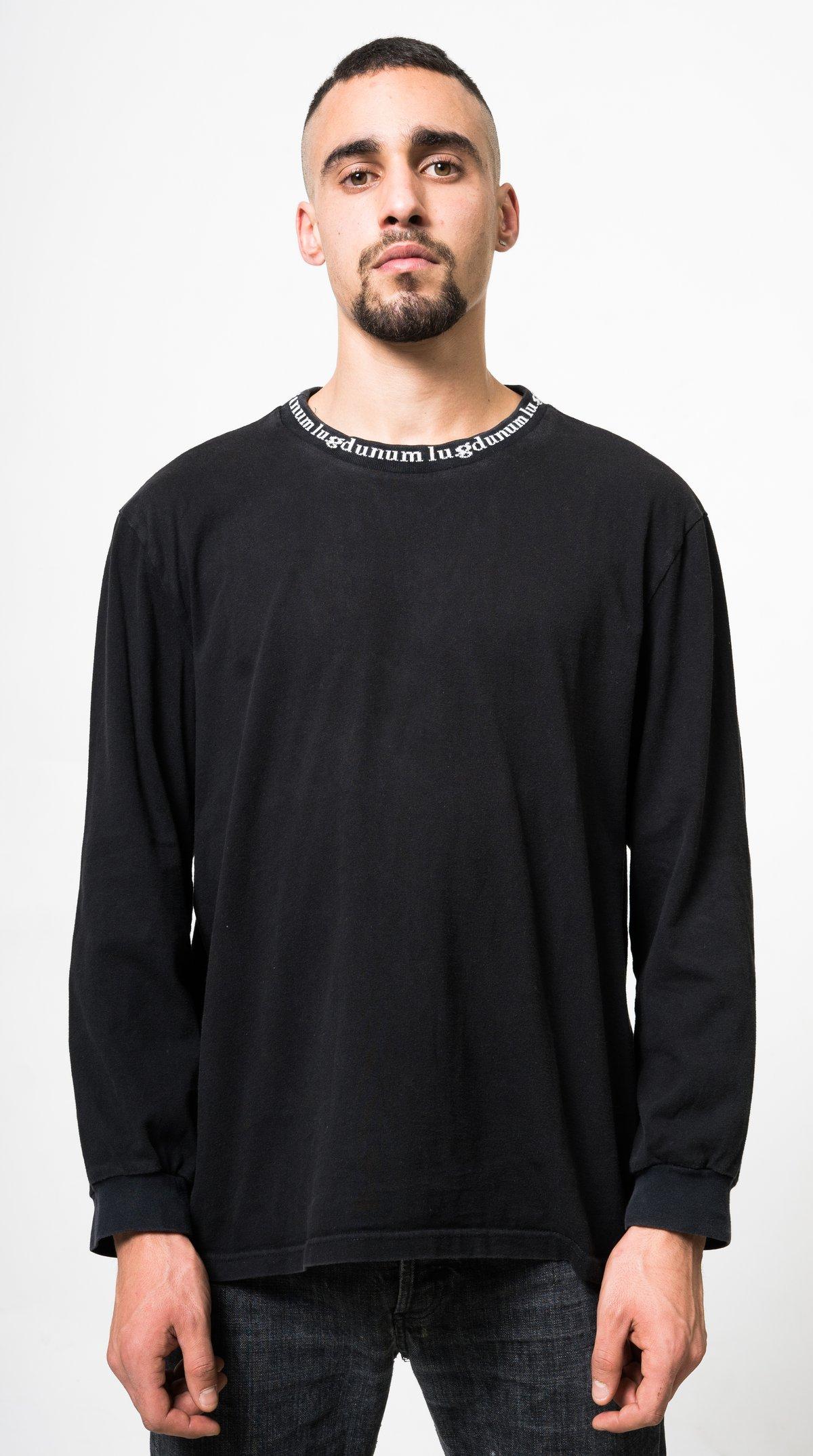 Image of T-shirt Col Tissé