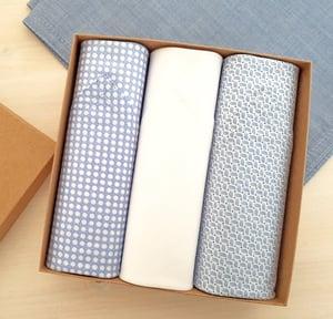Image of Classic Italian Handkerchiefs set