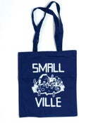 Image of Smallville Bag- Logo Print- Blue