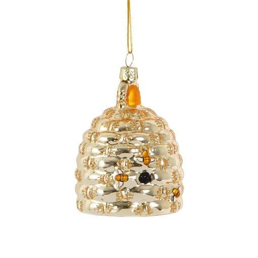 Image of Beehive Shaped Christmas Tree Bauble