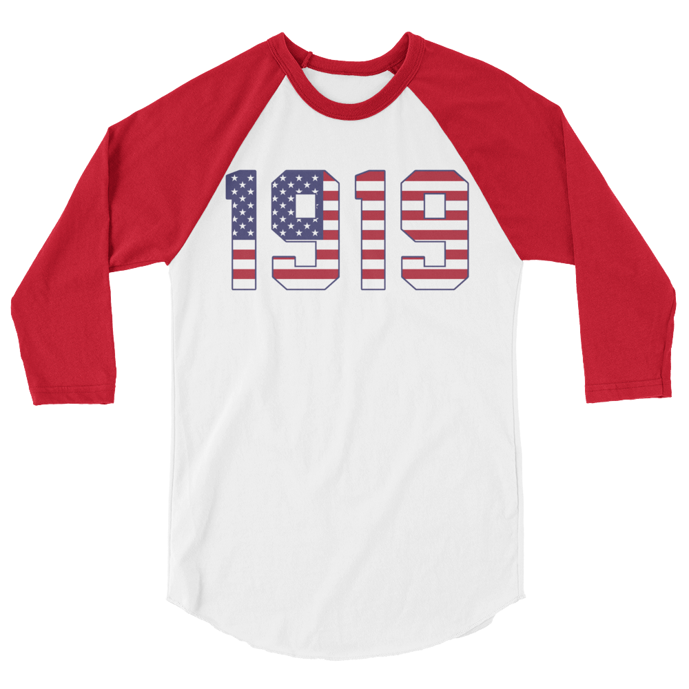 Image of 1919 Stars + Stripes Raglan