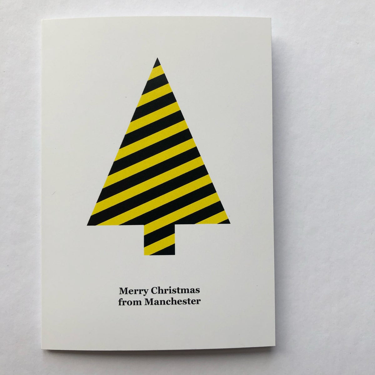 Image of MANCHESTER CHRISTMAS CARD