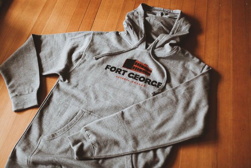 Image of Grey Fort Hoodie