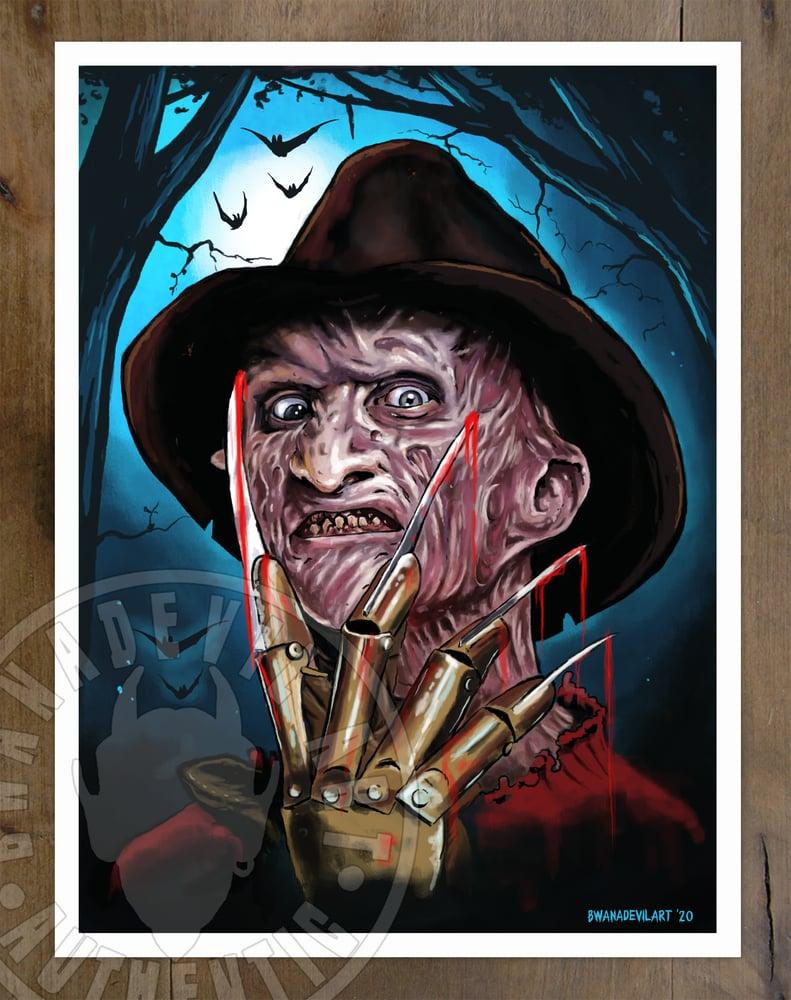 Image of Freddy Krueger Art Print (9x12 in.)